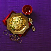 Chicken biryani (India)