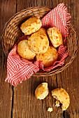 Hungarian pogača bread