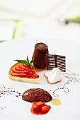 A festive dessert platter
