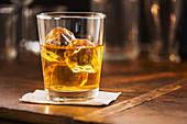 Scotch on the rocks