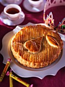 Galette Des Rois with caramelised pears (France)