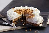 Banoffee Pie, angeschnitten