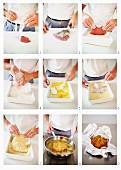 Making Wiener Schnitzel