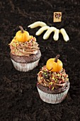 Halloween-Cup Cakes