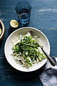 Fennel salad with rocket
