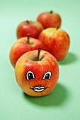 Apfelgesicht