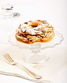 Paris Brest (choux pastry with hazelnut cream, France)