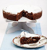 Torta Caprese (Italian chocolate cake)