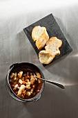 Fish goulash with white bread