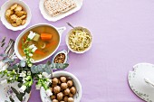 Jüdisches Festessen zum Passah-Fest