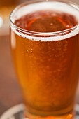A glass of chilli beer