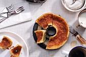 Melktert (pie with a creamy milk filling, South Africa)