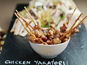 Chicken yakatori (chicken skewers, Japan)