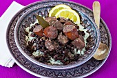 Feijoada (stew with black beans and sausage, Brazil)