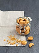Amaretti (almond biscuits from Italy)