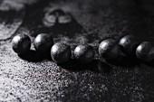 Salty liquorice pearls