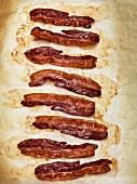 Knusprig gebratene Baconstreifen