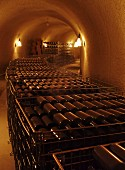 Bottle cellar of RdV Vineyards, Delaplane, Virginia, USA.