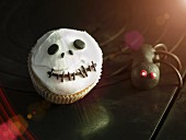 A cupcake for Halloween