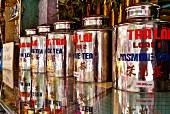 A tea shop in Saigon (Vietnam)