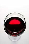 Gals Rotwein von oben