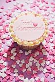 Cupcake für eine Hochzeit