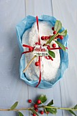 Christmas stollen as a gift