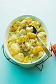 Cauliflower bake with potatoes