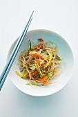 Stir-fried oriental noodles