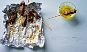 Pinchitos (grilled fish skewers, Spain)