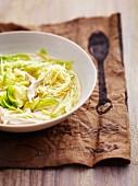 Chicken stew with cabbage