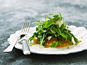 Orange and rocket salad