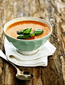 Pepper cream soup