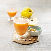 Quince juice with walnuts