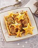 White sausage tart