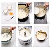 Vanilleeis zubereiten
