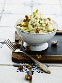 Risotto with pears and walnuts