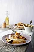 Mushroom and artichoke risotto