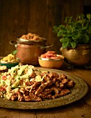 Turkey with couscous salad