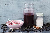 Cassis vinegar