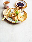 Prawn tempura with ponzu sauce (Japan)
