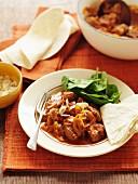 Rogan josh (lamb dish, Persia)
