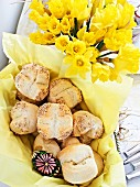 Bread rolls for an Easter brunch