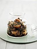 Pickled mushrooms