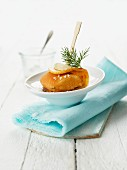 Fish and chips (sea bream)