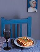 Ein Stück Lasagne al Forno