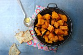 Sweet potato and pumpkin confit