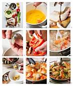 Paella zubereiten