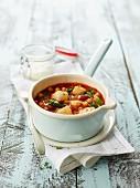 Catalan cod stew