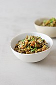 Moroccan style lentils